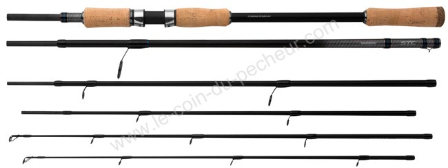 Canne voyage SHIMANO STC Dual tip spinning