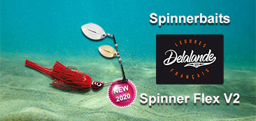 spinnerbait delalande spinner flex V2